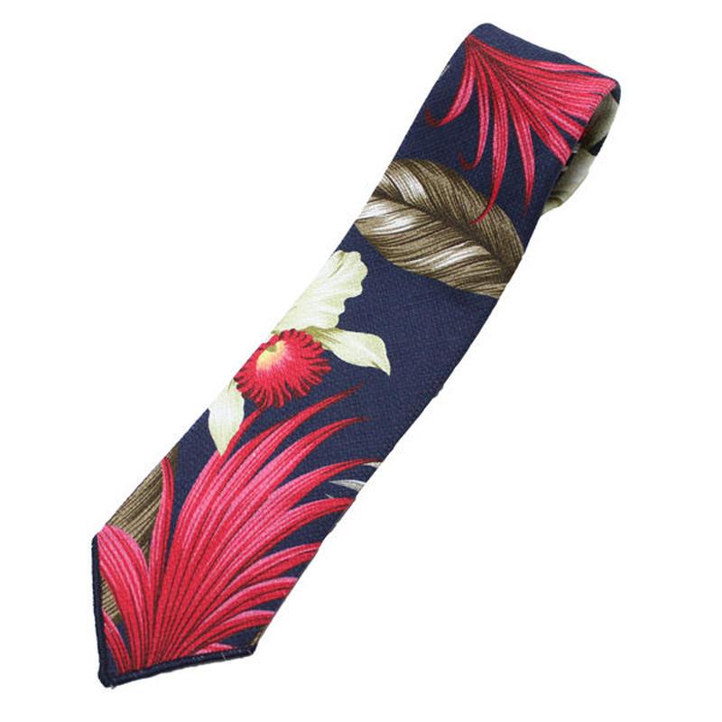 "ENGINEERED GARMENTS(エンジニアード ガーメンツ)""Neck Tie - Hawaiian Floral Java Cloth"""