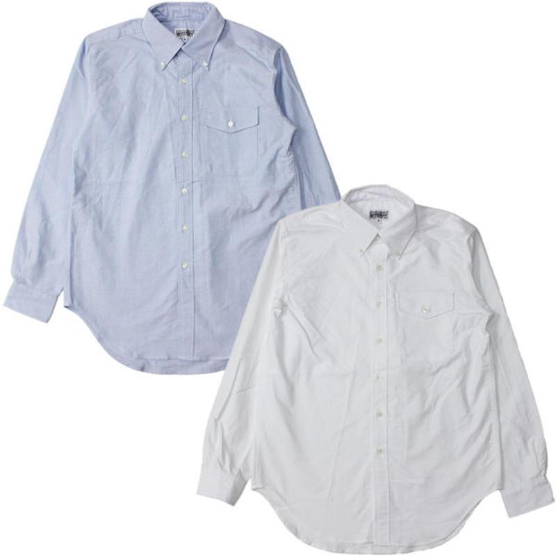 "Engineered Garments WORKADAY(エンジニアード ガーメンツ ワーカーデイ)""BD Shirt - Heavy Oxford"""