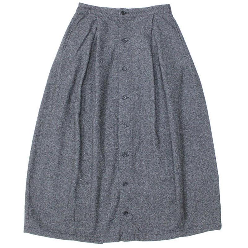 "FWK By ENGINEERED GARMENTS(エフダブリューケー バイ エンジニアド ガーメンツ)""Tuck Skirt - Wool Homespun"""