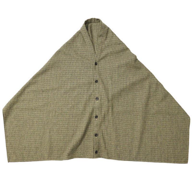 "ENGINEERED GARMENTS(エンジニアードガーメンツ)""Button Shawl - Gunclub Check"""