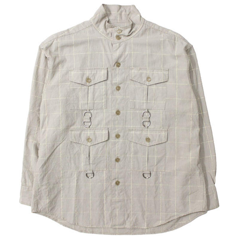 "AiE(エーアイイー)""SCD Shirt - Lurex Check"""
