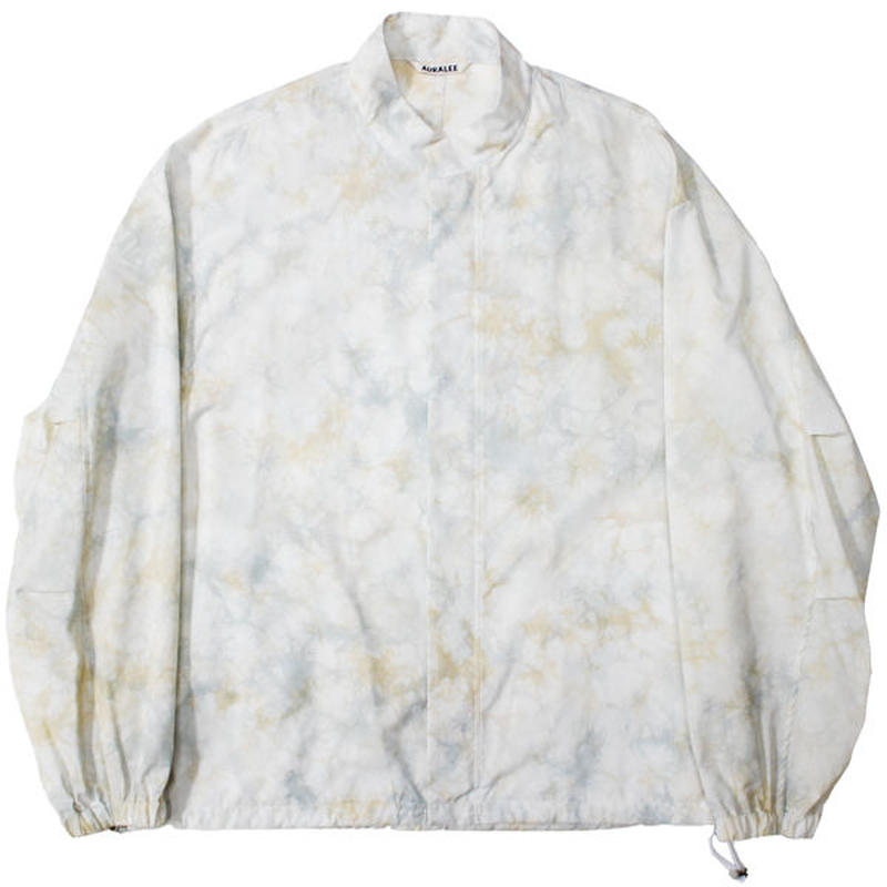 "AURALEE(オーラリー)""BASKET DYE TYPEWRITER BIG BLOUSON"""