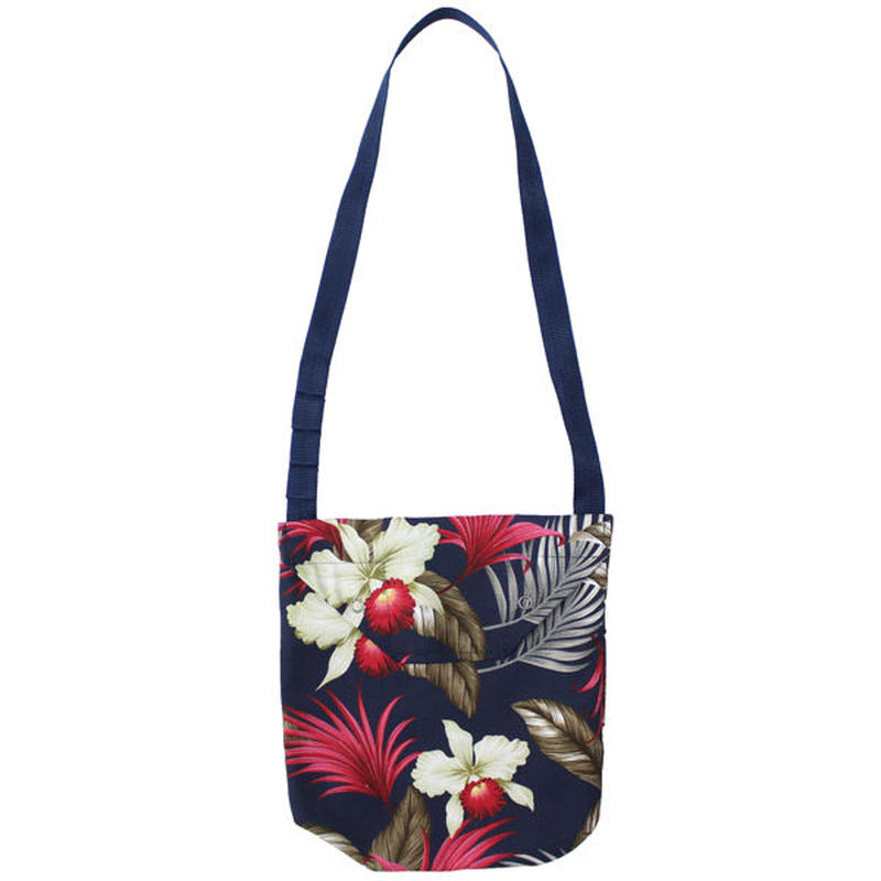 "ENGINEERED GARMENTS(エンジニアード ガーメンツ)""Shoulder Pouch - Hawaiian Floral Java Cloth"""