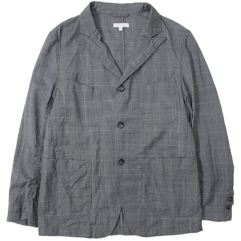 "ENGINEERED GARMENTS(エンジニアード ガーメンツ)""NB Jacket - Tropical Wool Glen Plaid"""