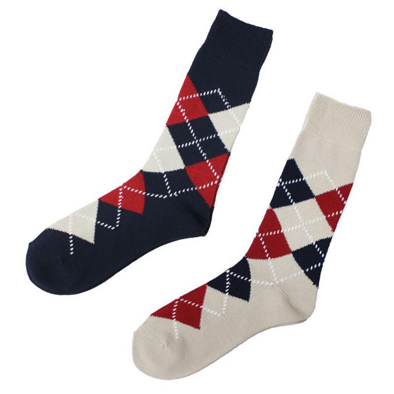 "NEEDLES(ニードルス)""Jacquard Socks - Argyle / CoolMax"""