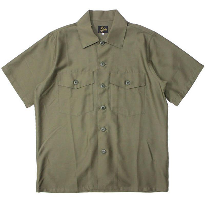 "Ladies' /NEEDLES WOMAN(ニードルス ウーマン)""S/S Army Shirt - T/C Back Sateen"""