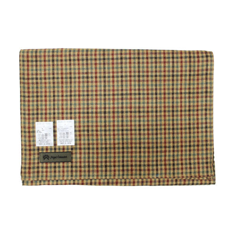 "Nigel Cabourn(ナイジェルケーボン)""STOLE OLD LINEN CHECK"""