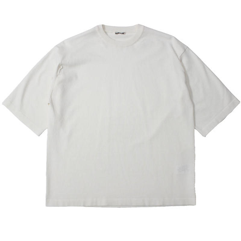 "AURALEE(オーラリー)""SUPER HARD TWIST KNIT BIG TEE"""