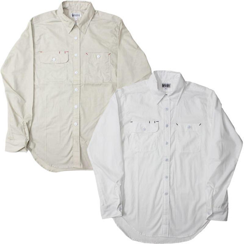 "Engineered Garments WORKADAY(エンジニアード ガーメンツ ワーカーデイ)""Utility Shirt - Cotton Broadcloth"""