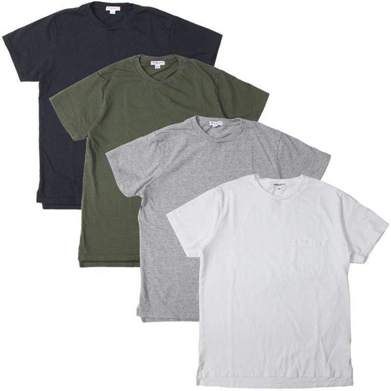 "Engineered Garments WORKADAY(エンジニアード ガーメンツ ワーカーデイ)""Crossover Neck Pocket Tee"""