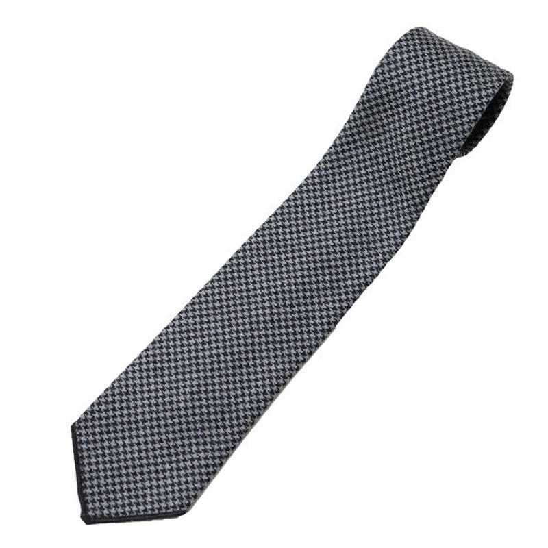 "ENGINEERED GARMENTS(エンジニアード ガーメンツ)""Neck Tie - Glen Plaid Houndstooth"""