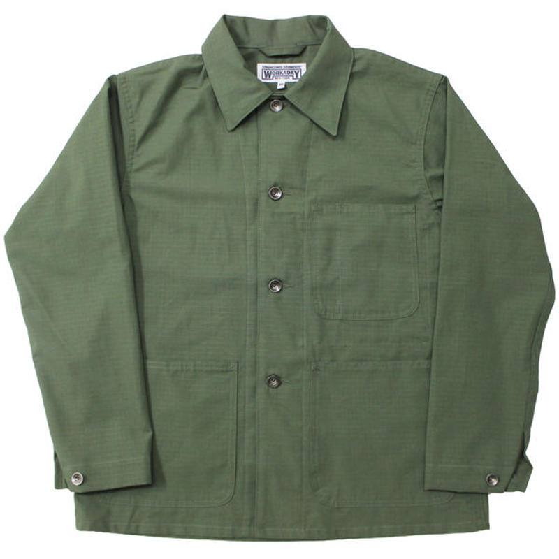 "Engineered Garments WORKADAY(エンジニアード ガーメンツ ワーカーデイ)""Utility Jacket - Cotton Ripstop"""
