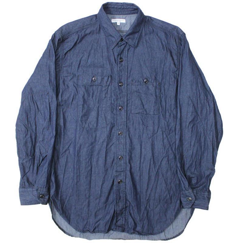 "Engineered Garments(エンジニアードガーメンツ)""Work Shirt - 4.5oz Denim"""
