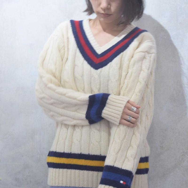 90's TOMMY Tilden Sweater
