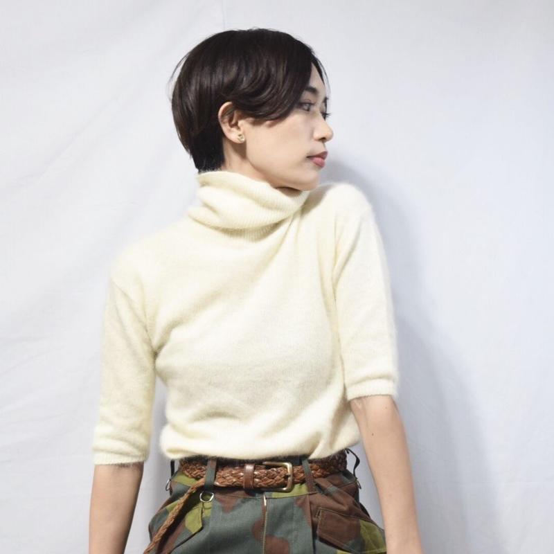 Old Angora S/S Knit