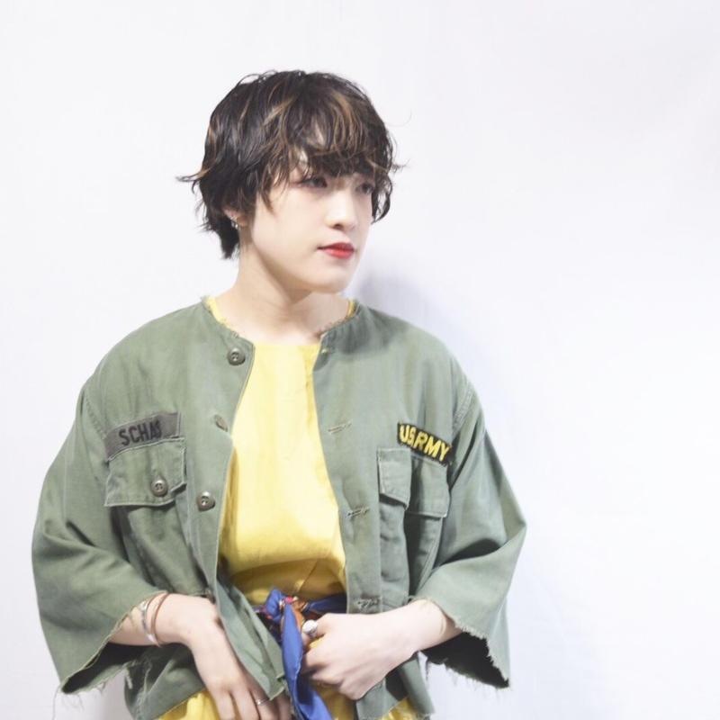 "Vintage U.S.ARMY Utility Shirt ""Remake"""