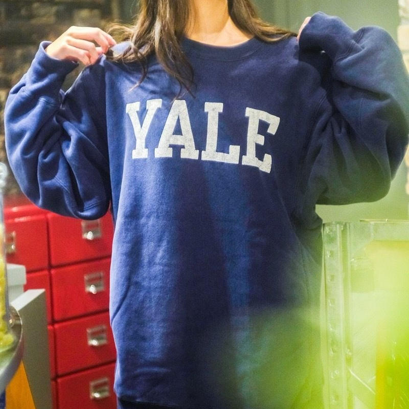 "80's Champion Reverse Weave ""YALE"""