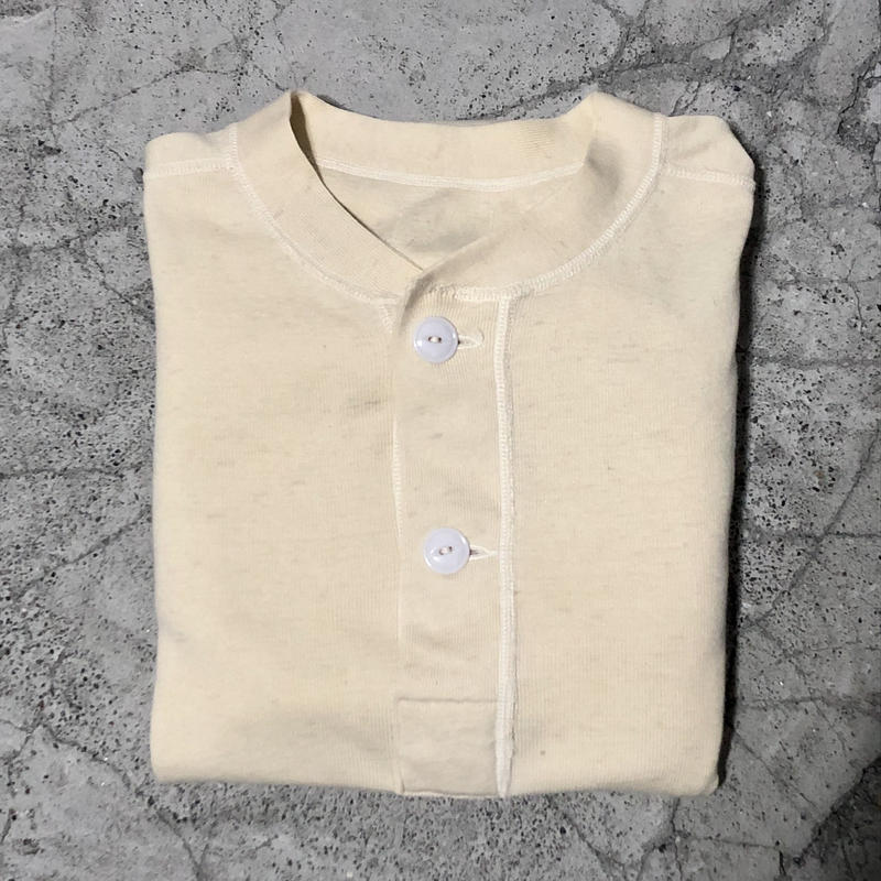 70's U.S.ARMY Henley neck