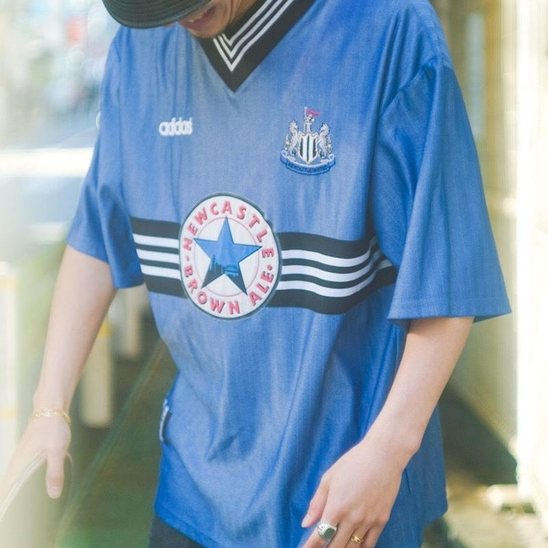 "90's Game Shirt ""NEWCASTLE"""