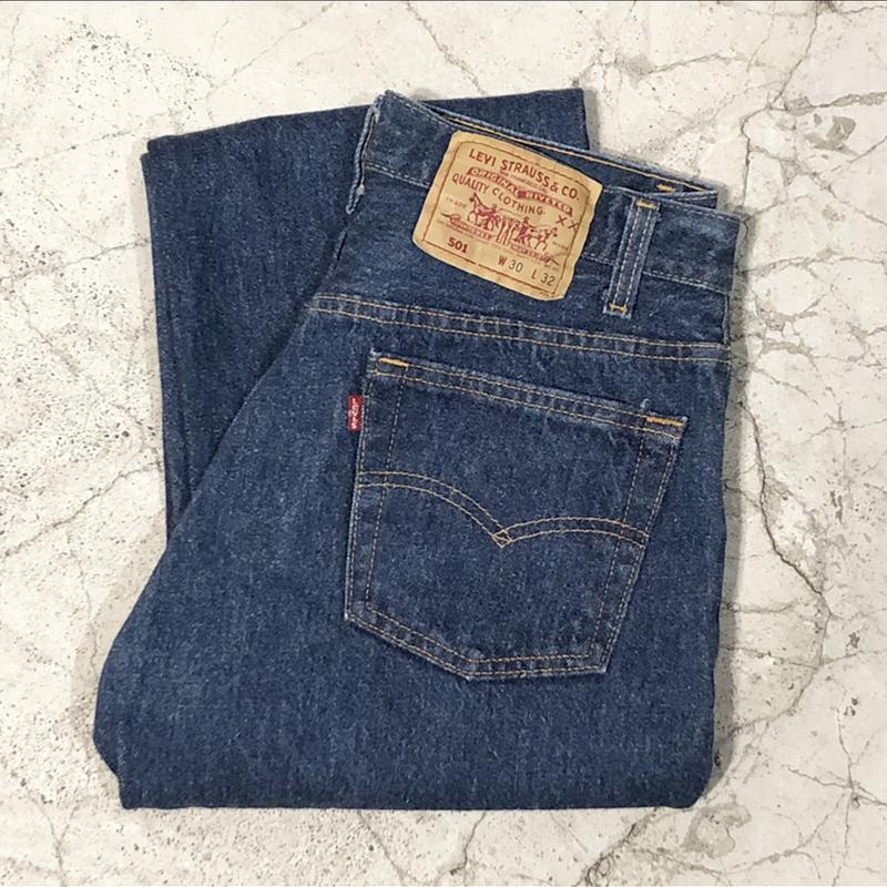 90's Levi's 501 Blue Jeans