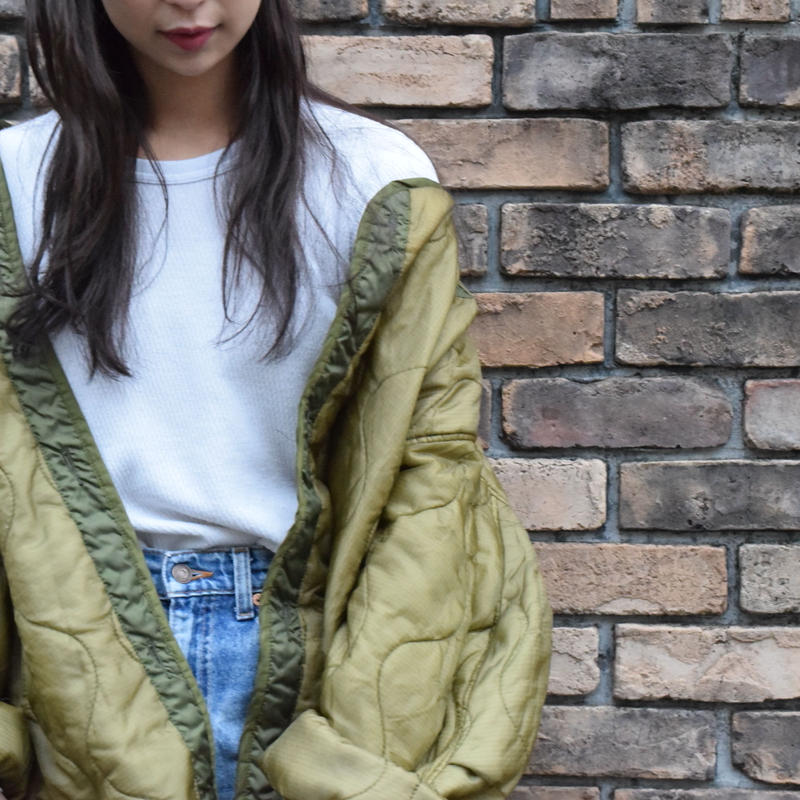 80's U.S.ARMY M-65 Quilting Liner Jacket