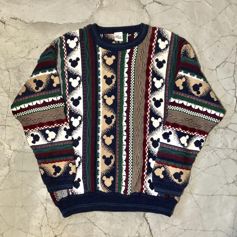 Mickey Mouse COOGI Sweater