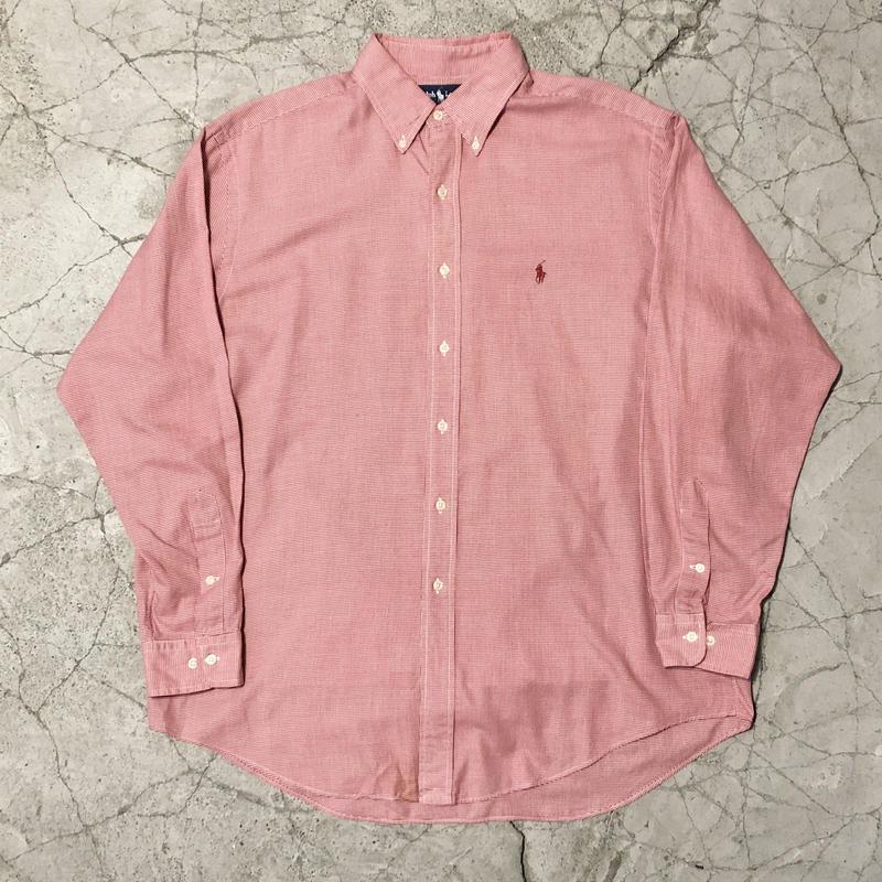 90's Ralph Lauren  Check Over Shirt