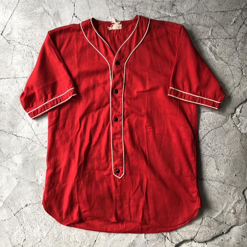 50's Plane Baseball Shirt