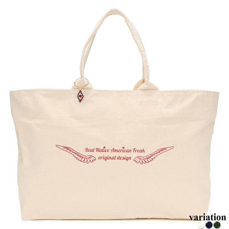 Feather logo  Tote bag