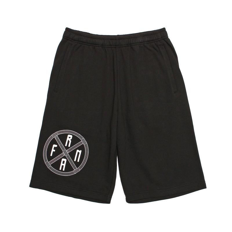 Medicine Wheel  logo Sweat half pants