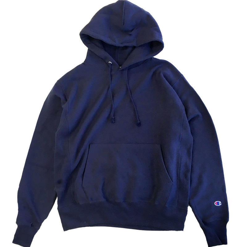 Champion Reverse Weave12oz. Pullover Hood Navy チャンピオン リバースウィーブ パーカー