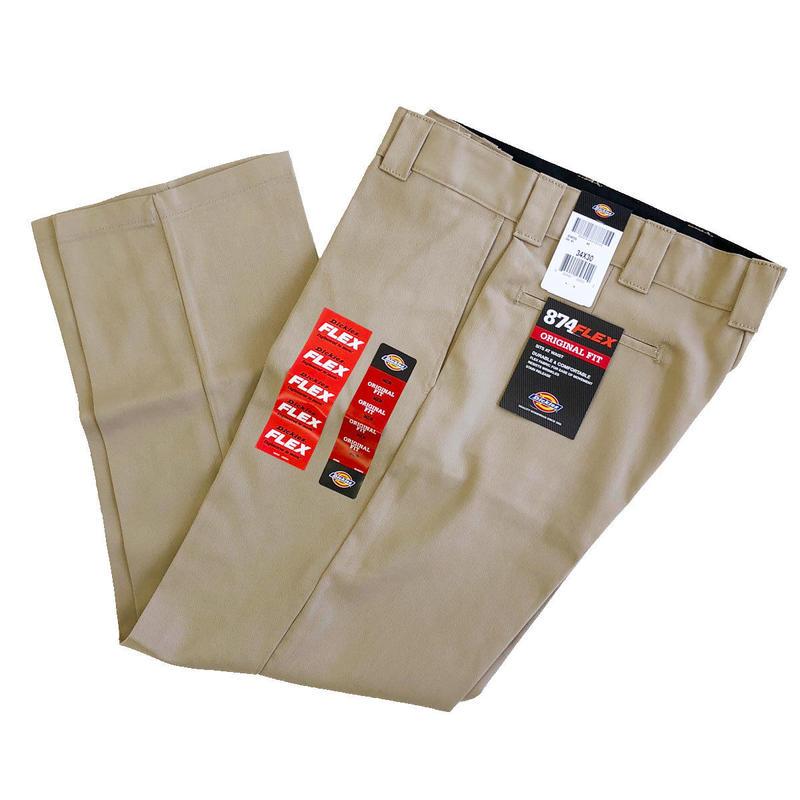DICKIES 874 FLEX WORK PANTS DESERT SAND ディッキーズ  フレックス ワークパンツ
