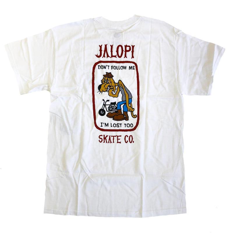 ANTI HERO   JALOPI SKATE CO POCKET TEE  WHITE  Tシャツ