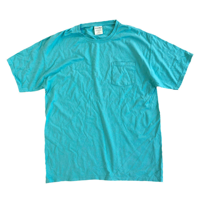 COMFORT WASH BY HANES / Ringspun Cotton Garment-Dyed S/S TEE SPANISH MOSS ヘインズ 後染め Tシャツ