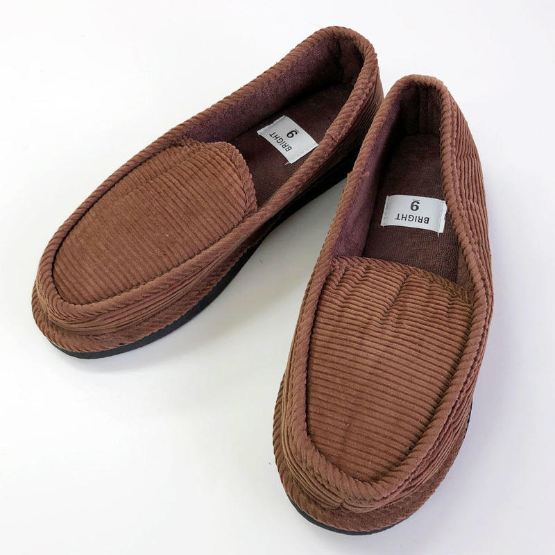 Corduroy Slippers  BROWN コーデュロイスリッパ  ブラウン