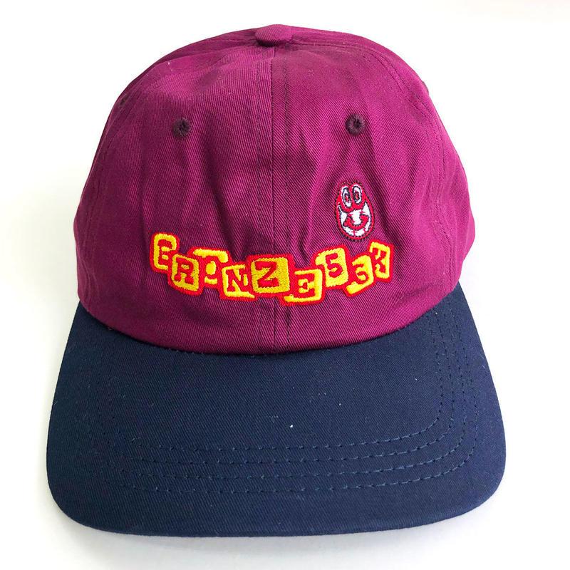 BRONZE 56K  BASEBALL HAT PLUM/NAVY  キャップ
