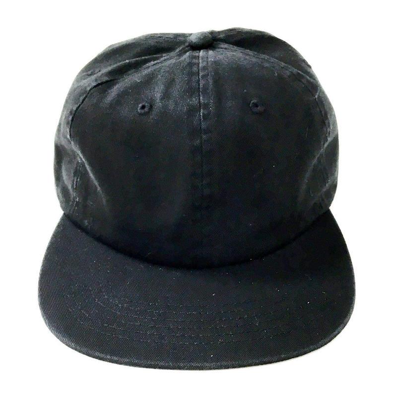 Cali HeadWear / 6panel Twill Unstructured BLACK カリヘッドウエア ブラック