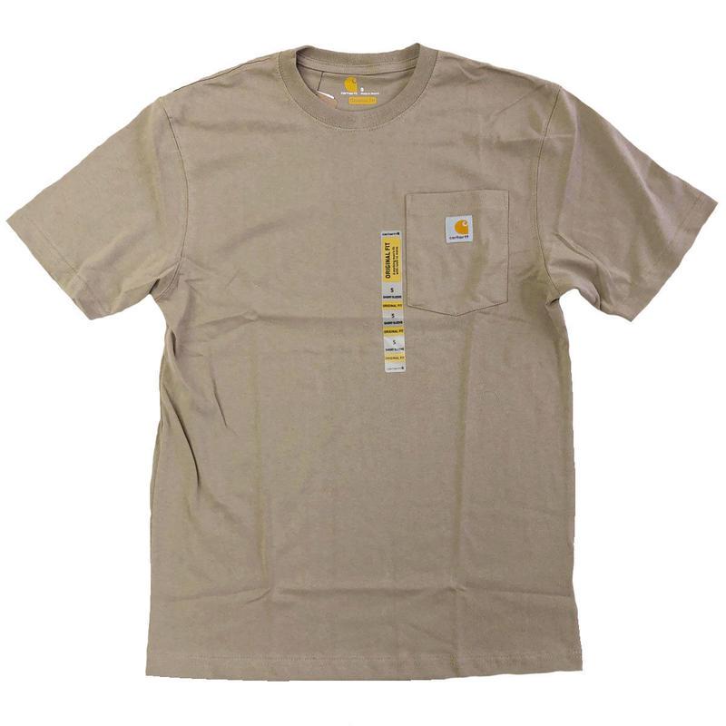 CARHARTT / WORKWEAR POCKET TEE  DESERT カーハート Tシャツ