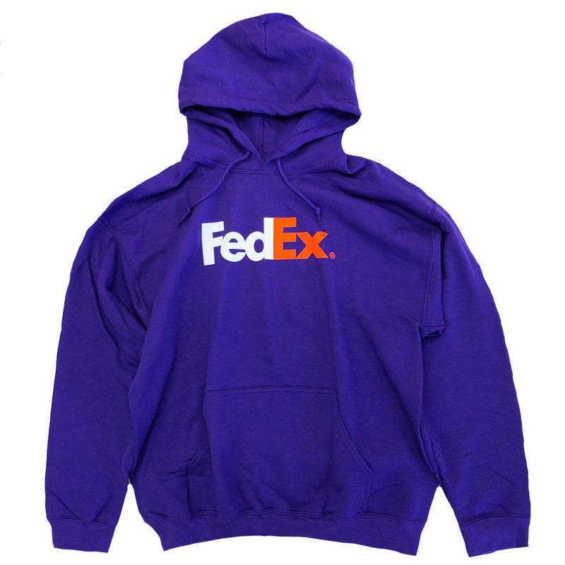 FedEx Heavyweight Pullover Hoodie Purple フェデックス パーカー