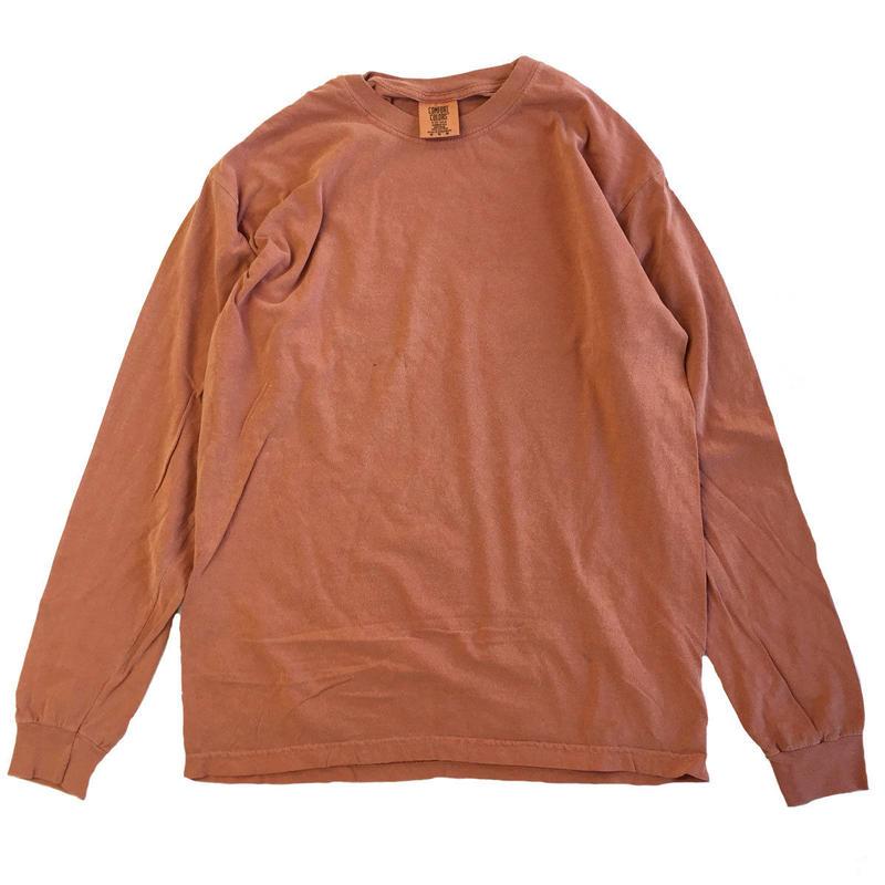 COMFORT COLORS 6.1oz L/S  TEE  YAM コンフォートカラーズ 長袖Tシャツ