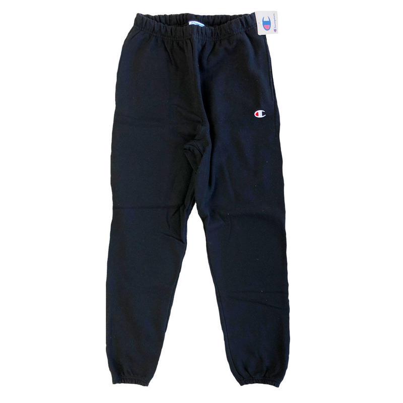 Champion  Reverse Weave Pant BLACK チャンピオン スウェットパンツ リバースウィーブ  LIFE