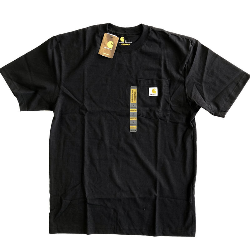 CARHARTT / WORKWEAR POCKET TEE  BLACK カーハート Tシャツ