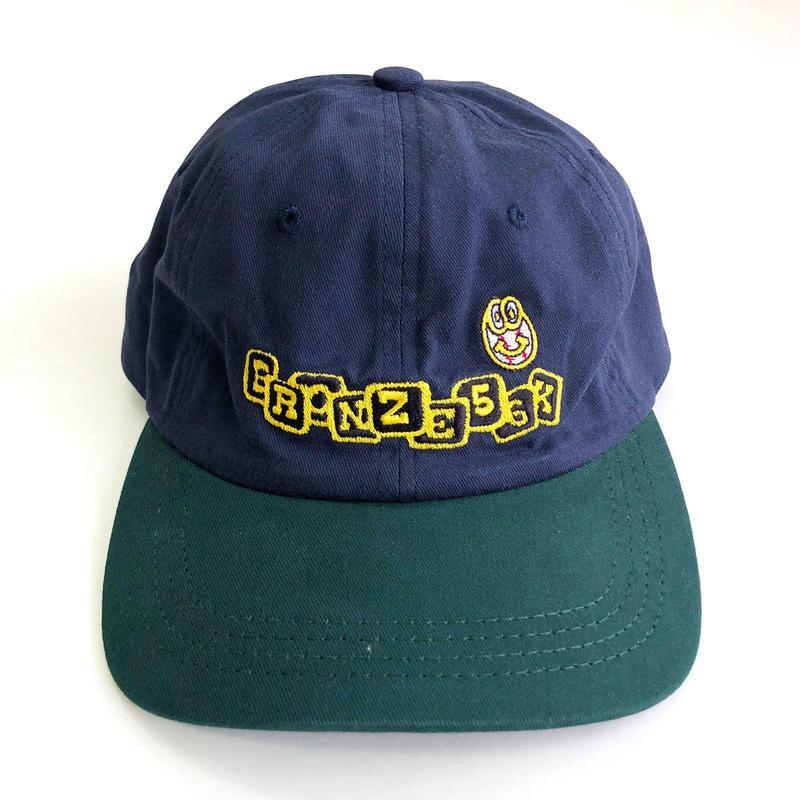 BRONZE 56K  BASEBALL HAT NAVY/HUNTER キャップ