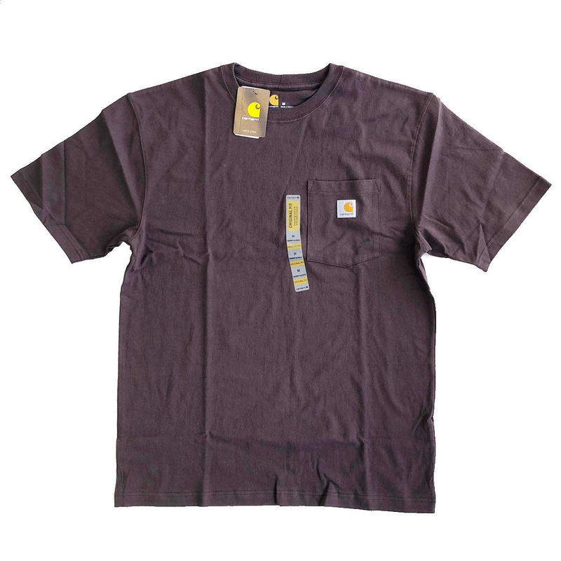 CARHARTT / WORKWEAR POCKET TEE  DARK BROWN  カーハート Tシャツ
