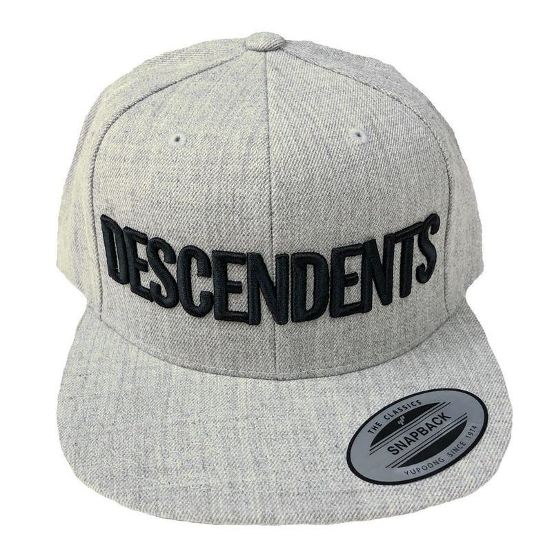 DESCENDENTS / LOGO SnapBack  Grey キャップ ディセンデンツ