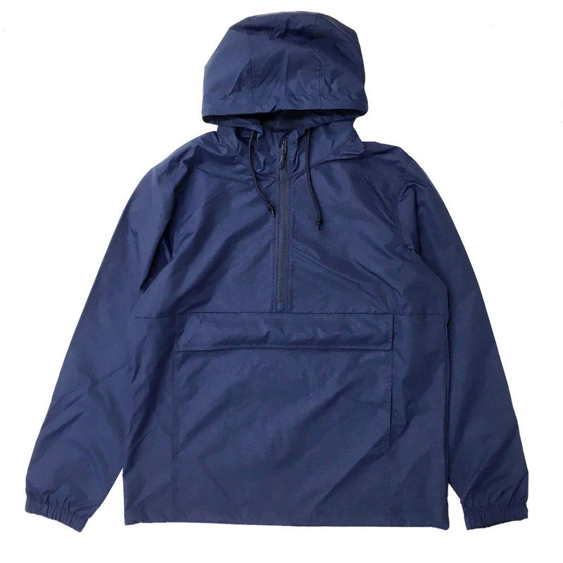 INDEPENDENT TRADING   WATER RESISTANT WINDBREAKER ANORAK JACKET NAVY アノラックジャケット