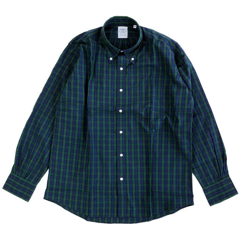THE BAGGY  BROADCLOTH L/S BD SHIRTS BLACKWATCH BDシャツ バギー
