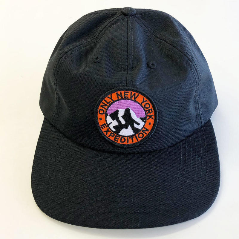 ONLY NY EXPEDITION CORDURA HAT  black オンリーニューヨーク キャップ