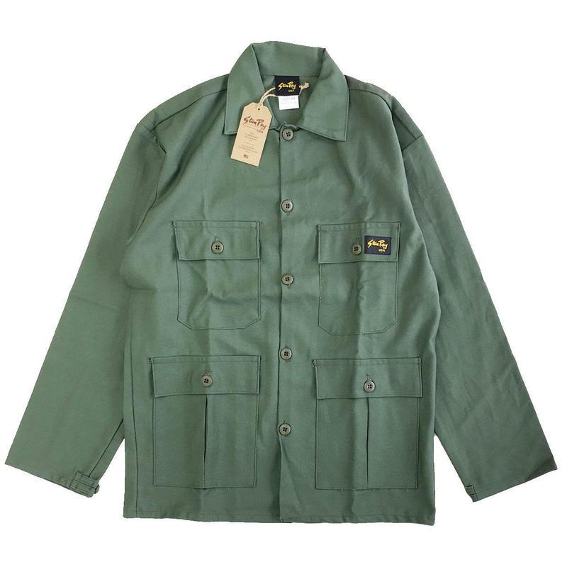 STAN RAY / Four Pocket Jacket OLIVE SATEEN スタンレイ ジャケット