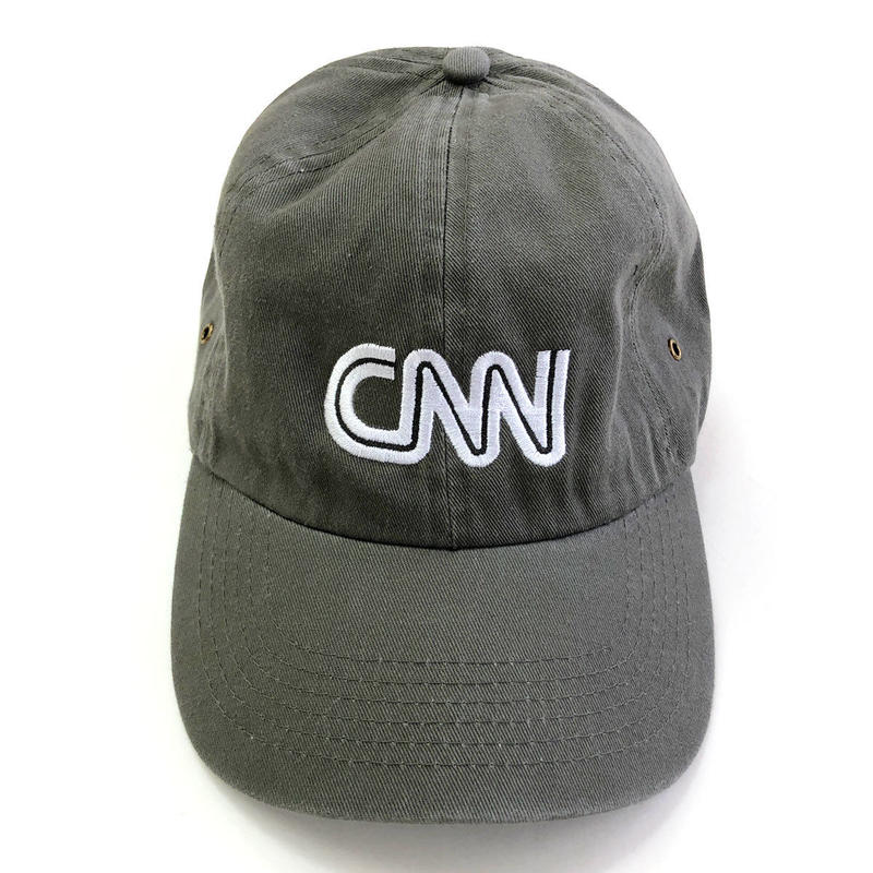CNN  BASIC LOGO CAP GREY キャップ オフィシャルグッズ
